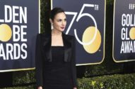 The Golden Globes: Dresses With Suity Elements (What an Elegant Headline)