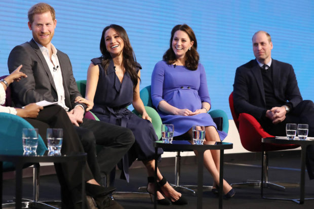 Prince Harry, Meghan Markle, Catherine Duchess of Cambridge and Prince William Attend Royal Foundation Forum