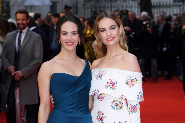 'The Guernsey Literary and Potato Peel Pie Society' film premiere, London, UK - 09 Apr 2018