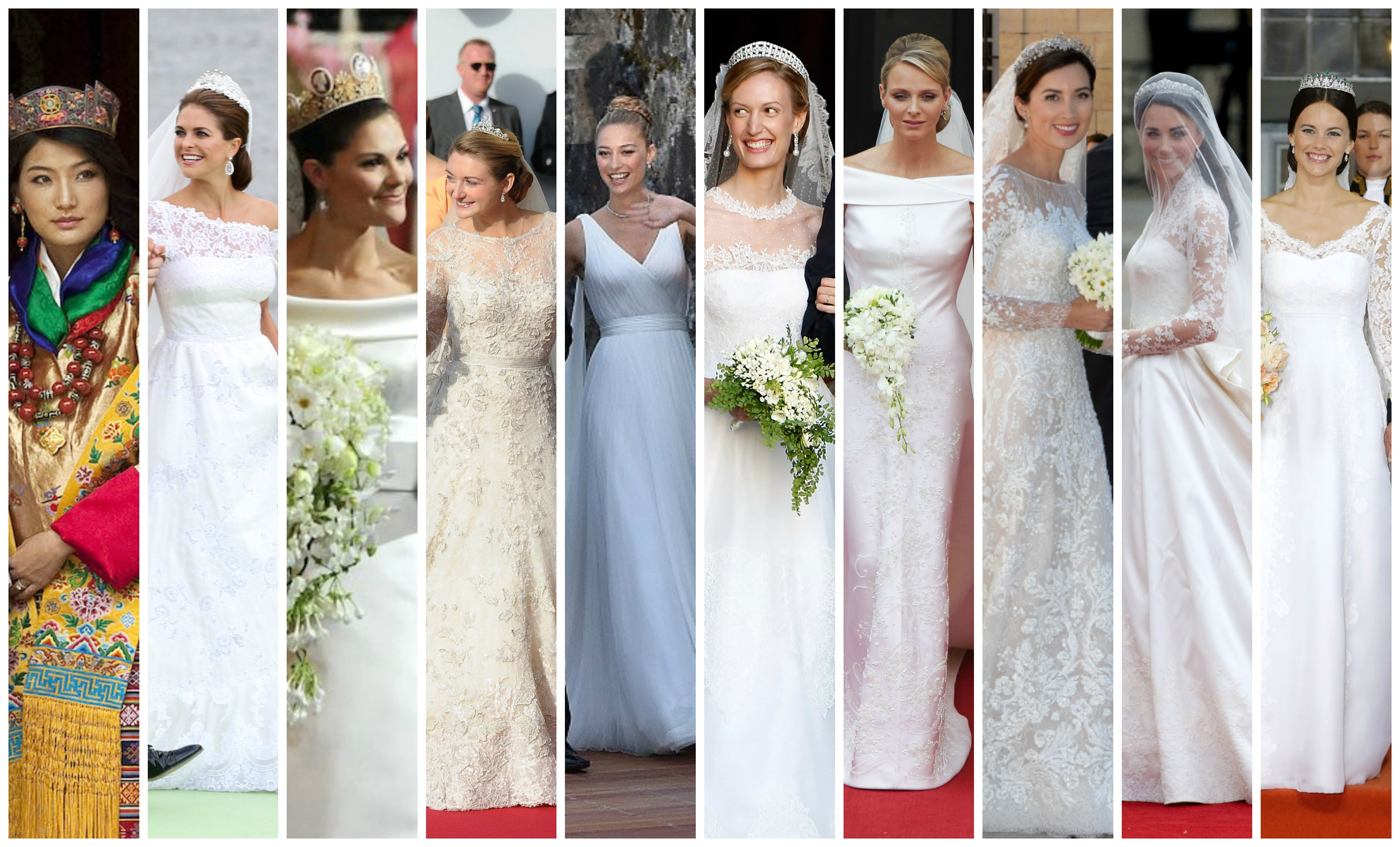 Wedding Gowns Pic: The Last Ten Years Of Royal Wedding Gowns
