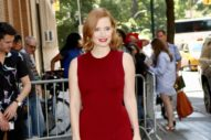 Jessica Chastain Is REALLY Making the Rounds