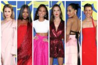 Pinks and Reds at the CFDAs: Naomi Campbell Obviously Wins This One