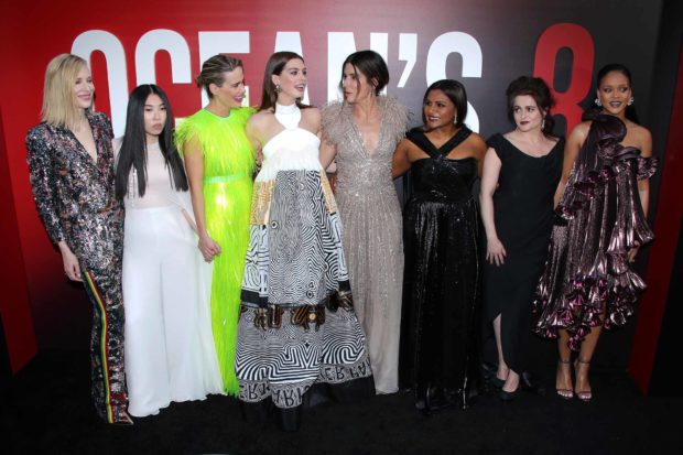 4b1cf256ae1 The Titular Ocean s Eight are Finally All Together at the Premiere