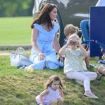 George, Kate, and Charlotte Pop Out for Polo