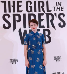 The Girl In The Spiders Webb Photo Call, Barcelona, Spain - 11 Jun 2018