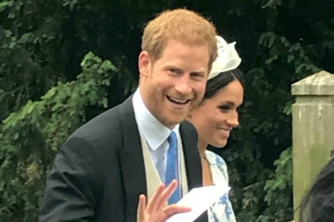 Harry and Meghan Go to a Wedding!