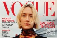 Saoirse Ronan Is So Stern on Vogue