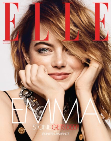 Emma Stone Elle September 2018