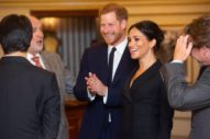 Harry and Meghan Come Out For Hamilton