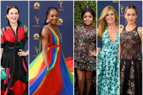 Emmys 2018: The Bright Colors and Bold Patterns