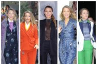 Blake Lively's Suit Obsession Is Intensifying