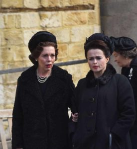 'The Crown' on set filming, Wincester, UK - 18 Sep 2018