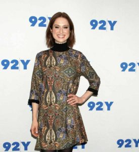 Ellie Kemper at 92Y to Promote her book My Squirrel Days