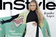 Yes, The Buzz Is True: J.Lo Wears A Giant Cape and Pants on InStyle