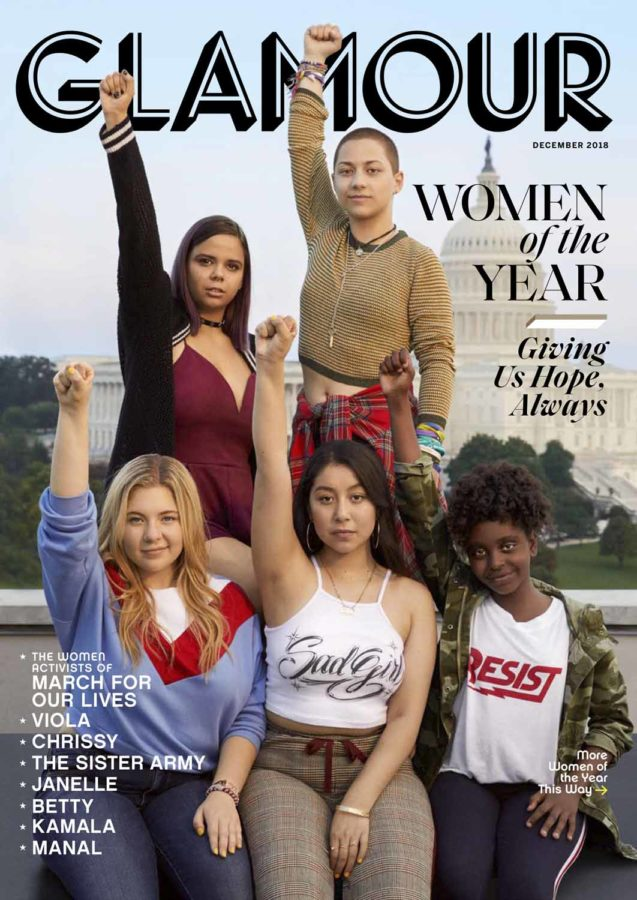 The Sister Army - Glamour Magazine Women - 1