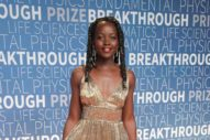 Lupita Looks Great in This Lamè Dress, and Other Celebs Celebrating Smart People