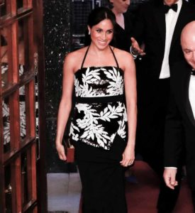 Meghan Gets Sparkly with Harry for the Royal Variety Performance