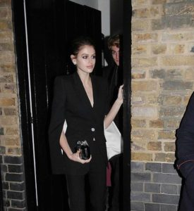 Stars Leaving The Fashion Awards 2018 After Party