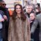 Keira Knightley Loves Her Furry Leopard Print Coat