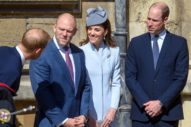 Many of the British Royals Come Out for Easter
