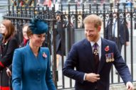 Kate and Harry Come Out for ANZAC Day