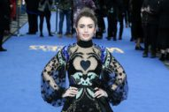 Lily Collins WENT FOR IT.