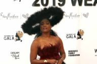 Beyonce Became a Lion For Her Mom's Wearable Art Gala