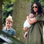 Meghan and Kate Bring the Kids Out to Watch Harry and Wills Play Polo