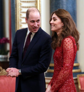 Wills and Kate (And Other Royals) Went to a Reception