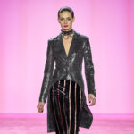Christian Siriano Went Shiny and Sculptural This Season