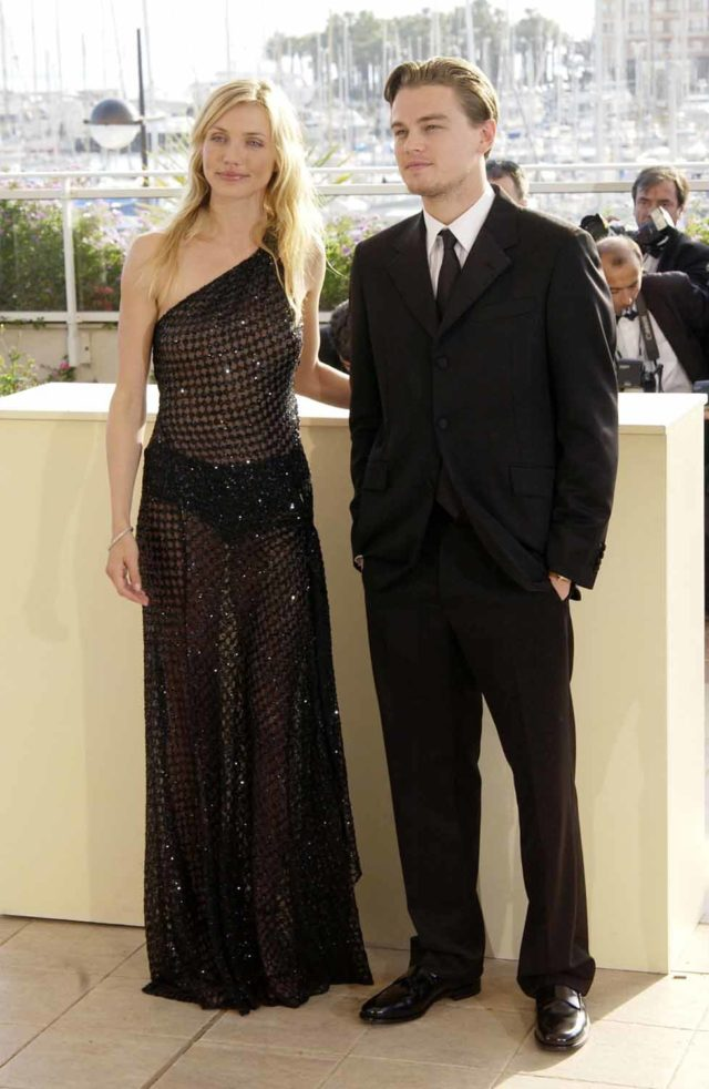 Gangs of New York Photocall during 55th Cannes Film Festival 21 May 2002