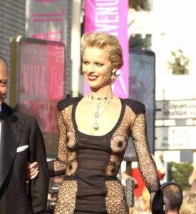 Eva Herzigova and the Dress of a Thousand Nipples