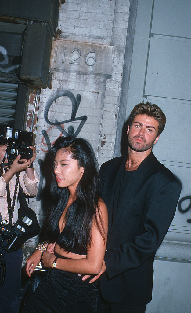George Michael Sighted at Nell's in New York City - August 18, 1988