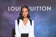 Alicia Vikander Emerged for Louis Vuitton