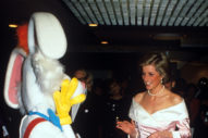 Do You Want to See a Photo of Princess Diana Meeting Roger Rabbit?