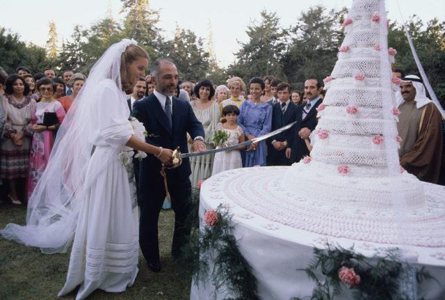 Matrimonio del re Hussein di Giordania con la regina Noor