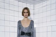 Alexandre Vauthier Was Feeling the 80s Glam Club Scene This Season