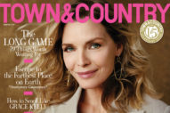 Michelle Pfeiffer Owns the Cover of Town and Country
