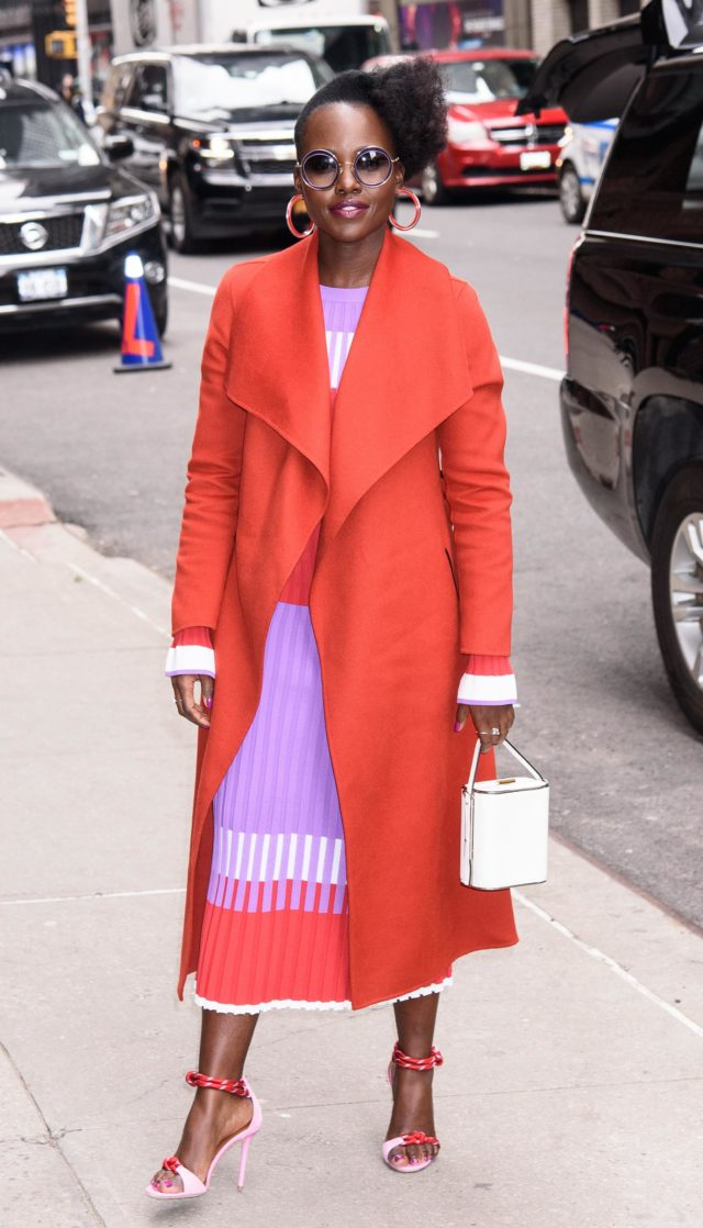 Lupita Nyong'o on Late Show with Stephen Colbert Show