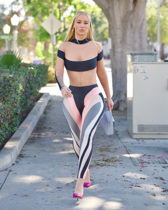 Exclusive - Iggy Azalea spotted out for the first time since announcing her retirement from music, Culver City, California, USA - 05 Aug 2021