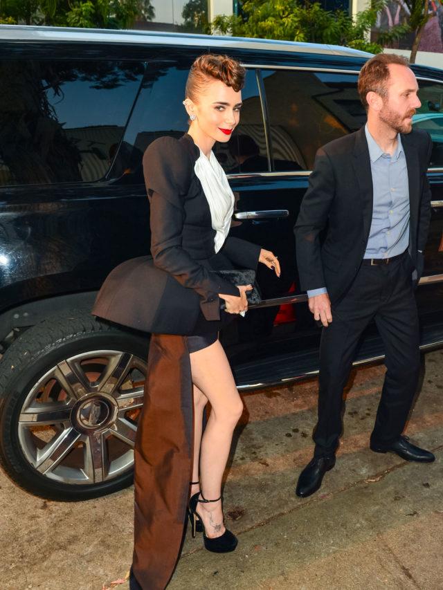 Celebrity Sightings In Los Angeles - August 24, 2021