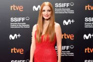 Jessica Chastain Wrapped Up San Sebastian With an Award and an Open Back